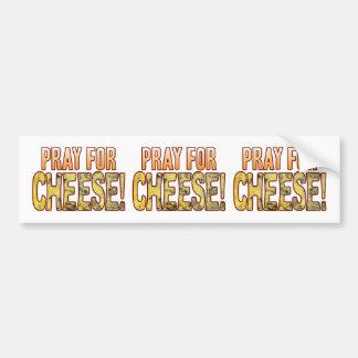 Pray For Blue Cheese Bumper Sticker