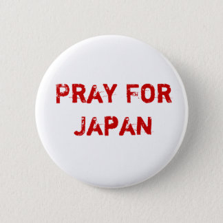 Pray for Japan 2 Inch Round Button