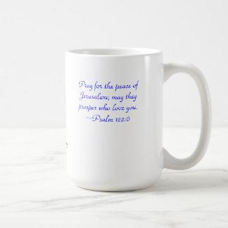 Pray for Jerusalem Mug