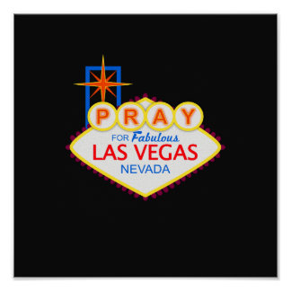 Pray for Las Vegas Poster