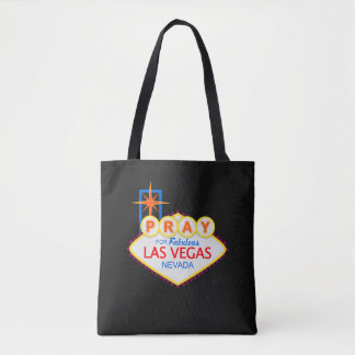 Pray for Las Vegas Tote Bag