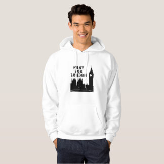 Pray For London We Are Not Afraid Hoodie