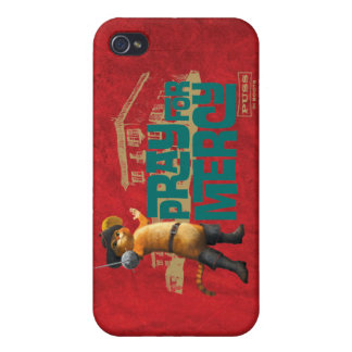 Pray for Mercy (blue) 2 Cover For iPhone 4