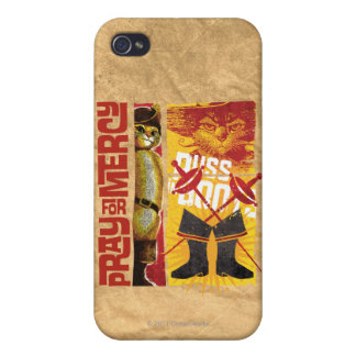 Pray for Mercy (red) Covers For iPhone 4