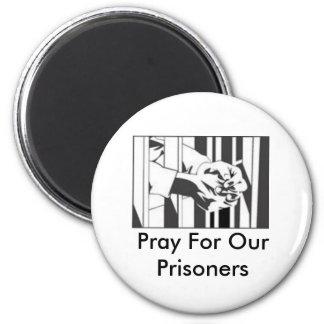 Pray for our Prisoner Magnet