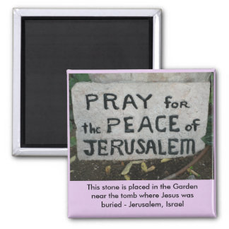 Pray for Peace Magnet