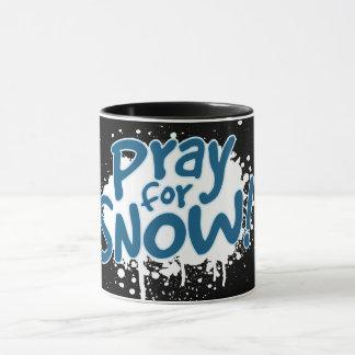Pray For Snow Mug