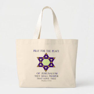 Pray for the peace of Jerusalem Tote