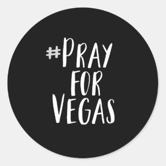 Pray For Vegas Sticker
