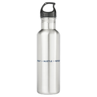 Pray Hustle Repeat 710 Ml Water Bottle