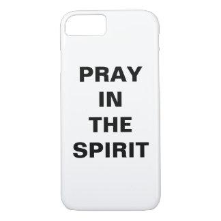 """Pray In The Spirit"" Apple iPhone 8/7 Case"