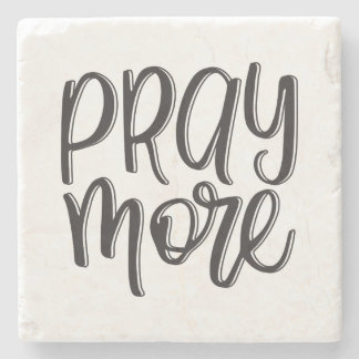 Pray More | Coaster