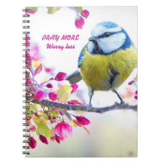 Pray More, Worry Less Notebook