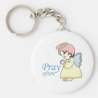PRAY OFTEN KEYCHAINS