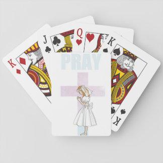 pray playing cards