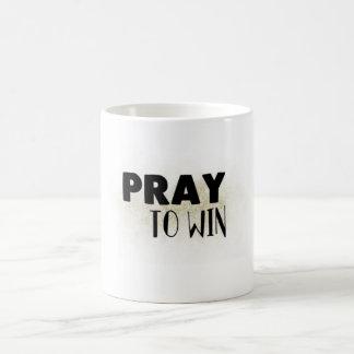 Pray to Win Mug