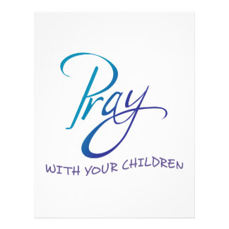 PRAY WITH YOUR CHILDREN LETTERHEAD