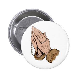 Prayer 2 Inch Round Button