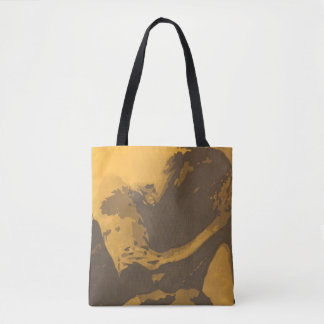 """Prayer"" All-Over-Print Tote Bag"