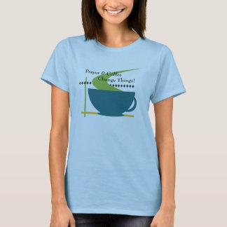 Prayer and Coffee Women's T-Shirt
