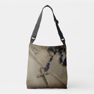 Prayer and Rosary Crossbody Bag