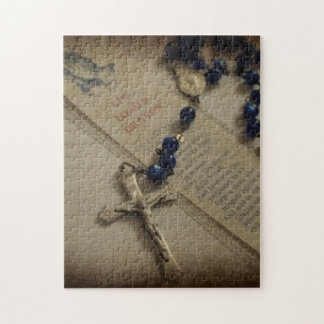 Prayer and Rosary Jigsaw Puzzle