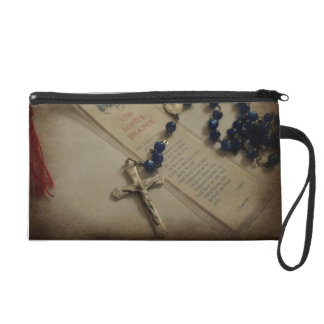 Prayer and Rosary Wristlet Clutches