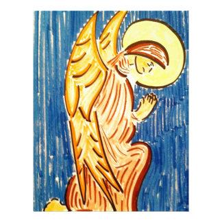 Prayer Angel Letterhead Template