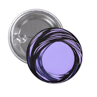 Prayer Bead Button Blue/Violet