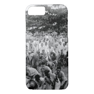 Prayer Before the Surrender_War Image iPhone 7 Case