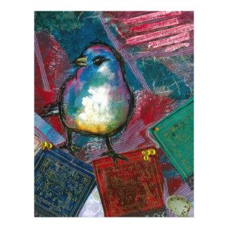 Prayer Bird Letterhead Design