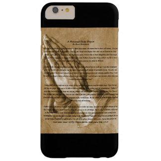 Prayer black phone case