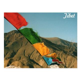 Prayer flags postcard