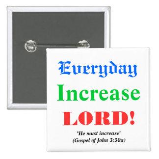Prayer for Blessings Buttons