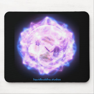 Prayer for Gaia mousepad, branded Mouse Pad