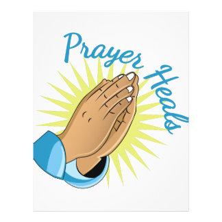 Prayer Heals Letterhead Design