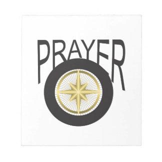 prayer hub notepad
