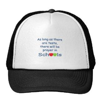 PRAYER IN SCHOOL MESH HATS