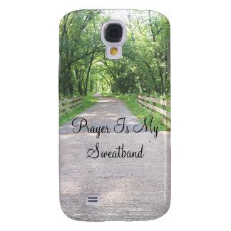 Prayer is my sweatband  phone case