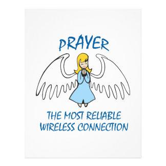 PRAYER IS RELIABLE LETTERHEAD