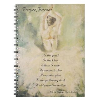 Prayer Journal Spiral Note Book