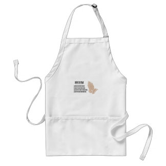 prayer lesson standard apron