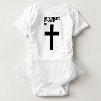 Prayer: Let Your Requests be Known to God Baby Bodysuit