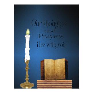 prayer custom letterhead