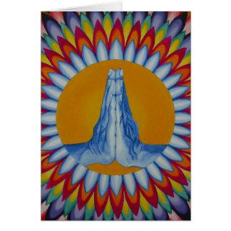 Prayer Mountain Greetings Card