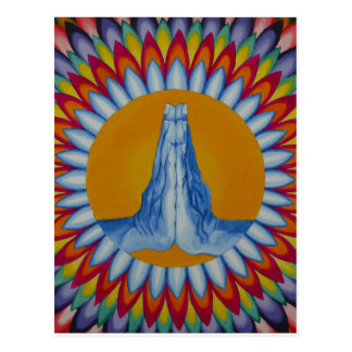 Prayer Mountain Postcard