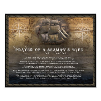 Prayer of a Seaman's wife Photo
