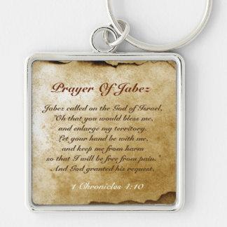 Prayer of Jabez Bible Verse Keychain