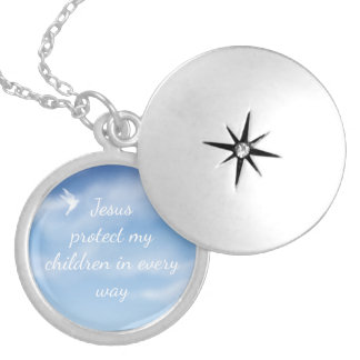 Prayer of Protection for your Children Heavenly Locket Necklace