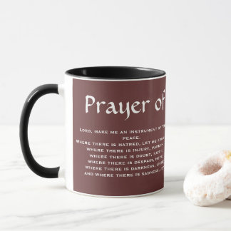 PRAYER* OF SAINT FRANCIS Coffee Mug